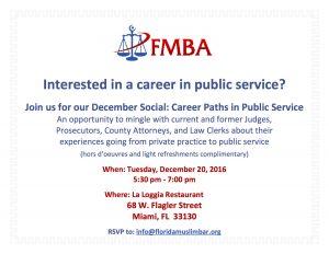 FMBA - December Social